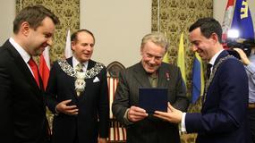Daniel Olbrychski został honorowym obywatelem Opola