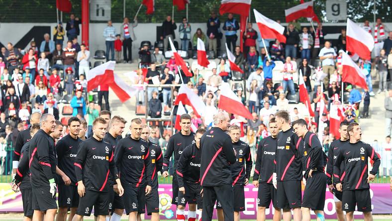 Polacy już na Stadionie Narodowym