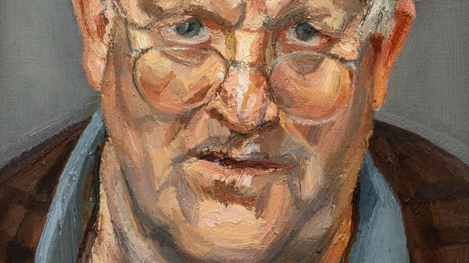"Lucian Freud - ""Portret Davida Hockneya"""
