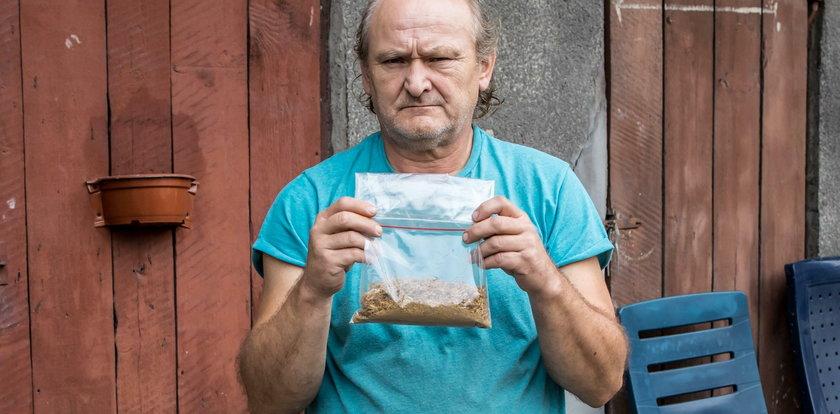 Kupił legalnie tytoń. Ściga go policja