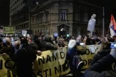 """PROTEST """"1 OD 5 MILIONA"""" Počelo okupljanje u centru Beograda"""