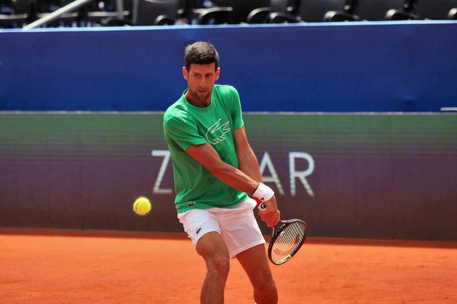 Novak Đoković Aleksandar Zverev Adria Tour Zadar
