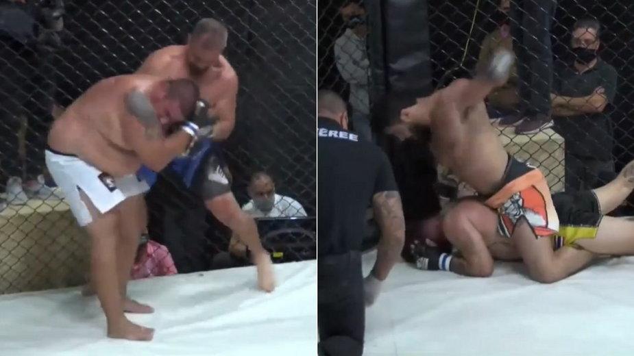 Doświadczeni weterani UFC rozbili zawodników z ujemnymi rekordami na gali w Brazylii