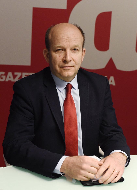 Minister Konstanty Radziwiłł w Fakcie