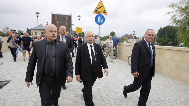 PiS nie chce ochrony BOR dla Jarosława Kaczyńskiego