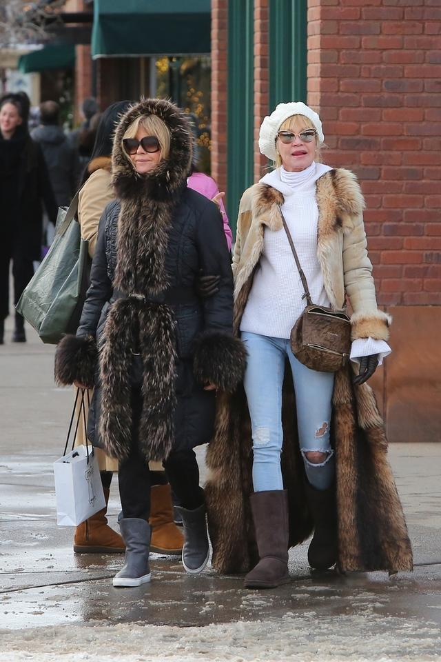 Melanie Griffith i Goldie Hawn