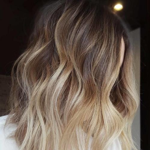 Nowa Koloryzacja Blond To Vanilla Milkshake Ombre Kt 243 Re