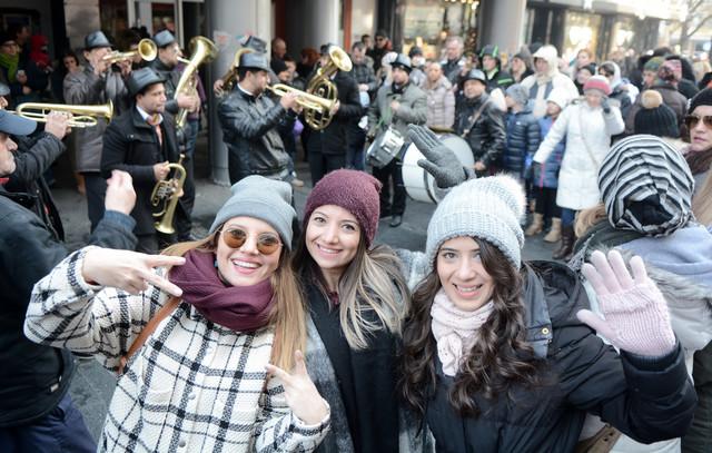 Turisti u Beogradu uoči Nove godine