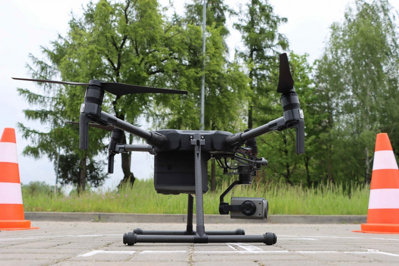 Dron w służbie policji