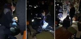 Policja znów interweniowała w znanym warszawskim pubie. Szokujące nagranie