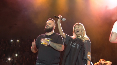 EUFORIJA, VRISCI, GROMOGLASAN APLAUZ: Kija napravila haos na koncertu Jale i Bube!