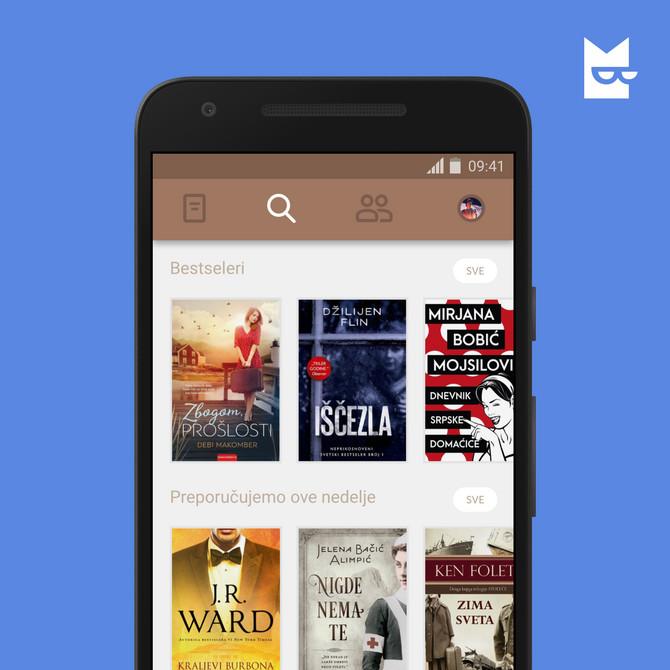 Sve knjige koje želite - od sada na vašem mobilnom