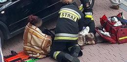 Wypadek w Rabce-Zdrój. Auto wjechało w matkę z dzieckiem