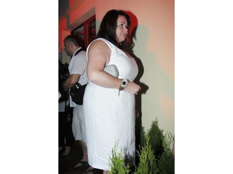 Wcześniej Katarzyna Niezgoda pokazała się m.in. w bieli.
