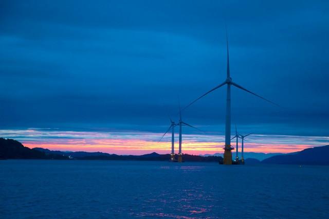 Turbine na vetar u Norveškoj