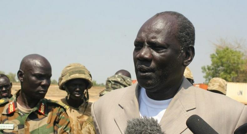 South Sudan's information minister Michael Makuei