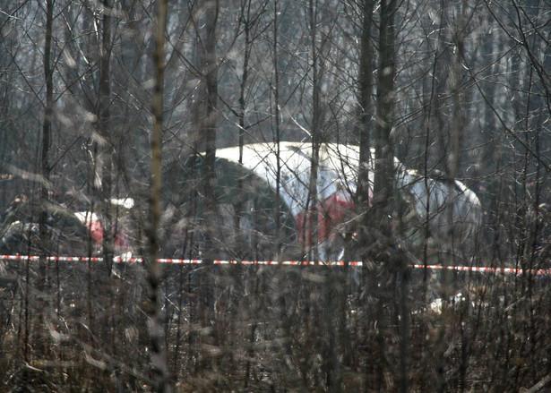 Miejsce katastrofy w Smoleńsku