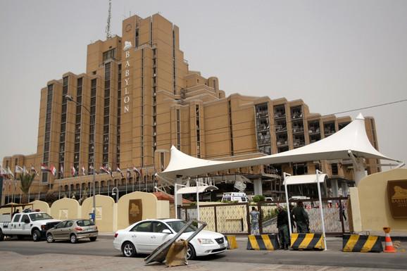 Hotel Vabilon u Bagdadu