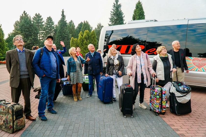 """Iwona Mazurkiewicz w """"Sanatorium miłości"""""""