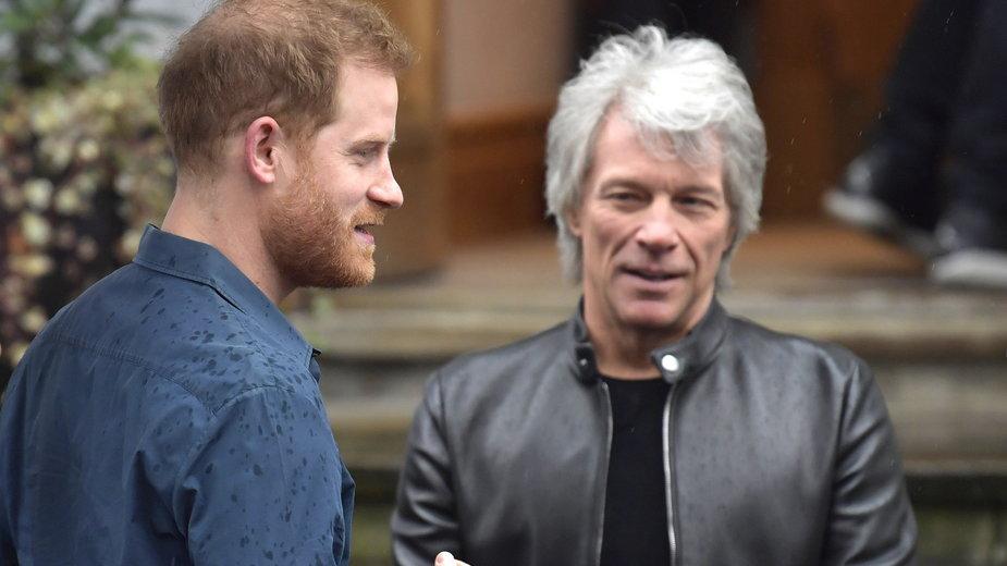 Książę Harry i Jon Bon Jovi