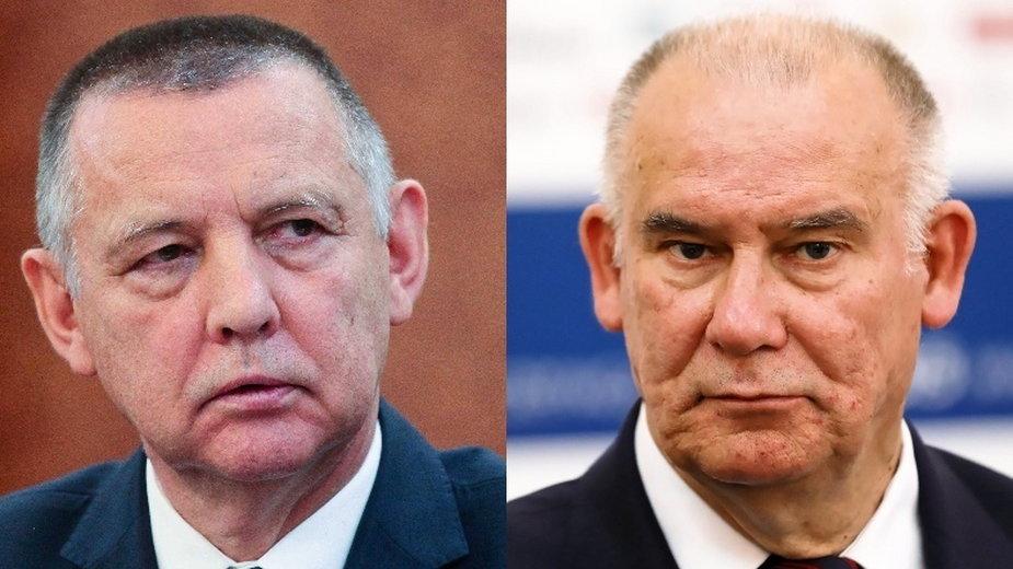 Marian Banaś i Tadeusz Dziuba