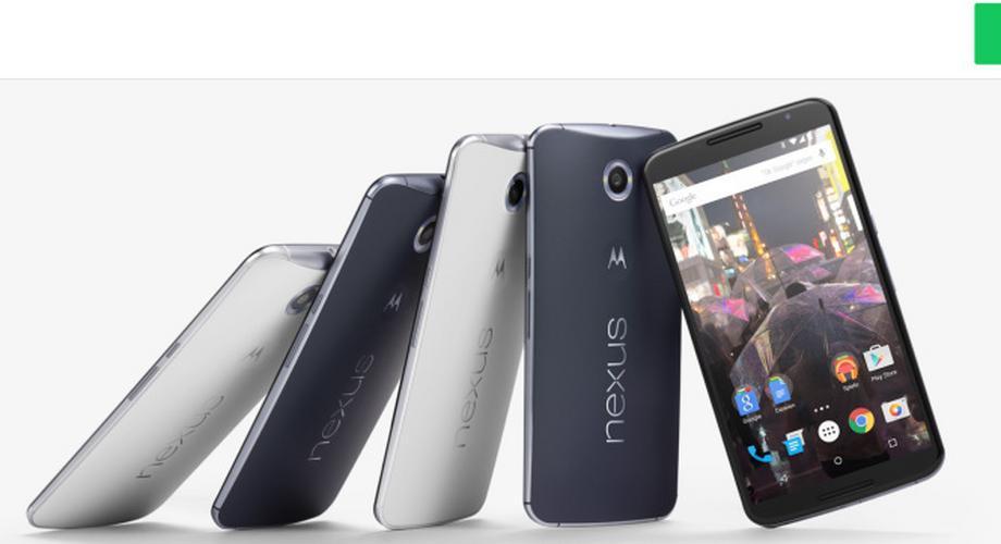 Google Nexus 6 ab 420 Euro im Google-Play-Store erhältlich