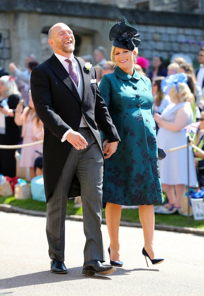 Zara sa suprugom na venčanju princa Harija