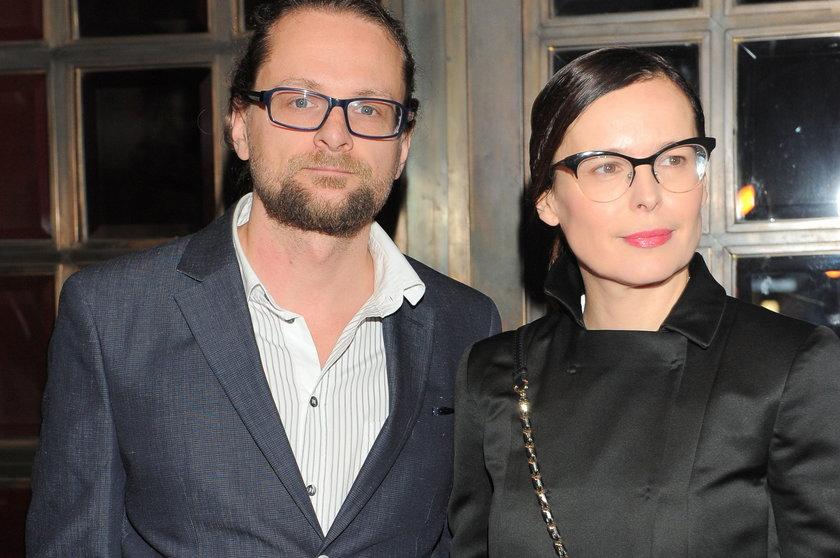 Wojciech Kuczok i Agata Passent