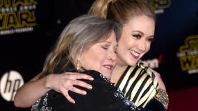 """""""Księżniczka po przejściach"""". Mija rok od śmierci Carrie Fisher - taką ją pamiętamy"""