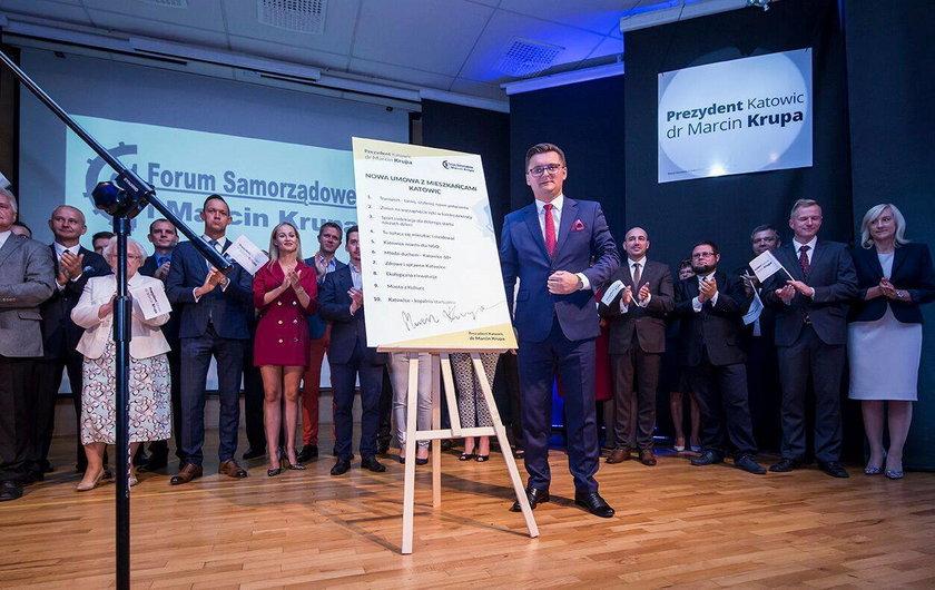 Mieszkańcy Katowic oceniają prezydenta Katowic na półmetku kadencji