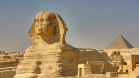 Drugi Sfinks z Gizy istniał naprawdę? Pisarz twierdzi, że zna jego lokalizację