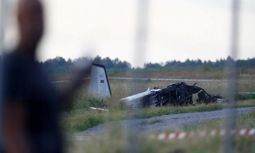 Szwecja: katastrofa samolotu. Zginęli skoczkowie spadochronowi