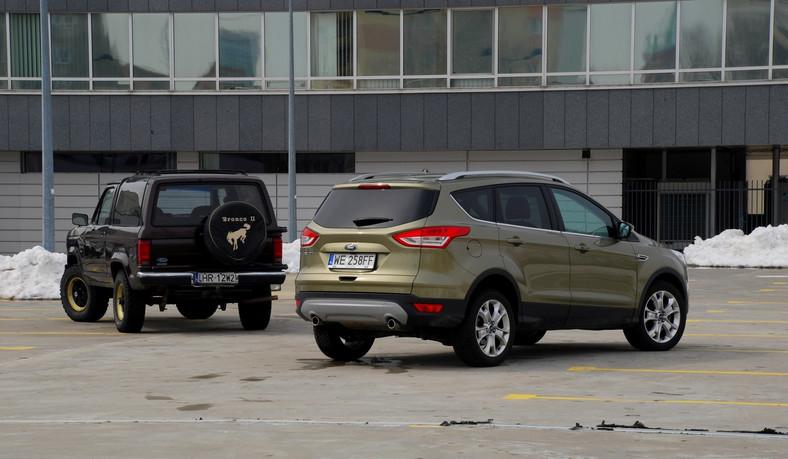 Ford bronco i ford kuga