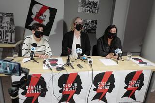 Warszawski Strajk Kobiet przedstawił swoje żądania. 'Protesty będą trwały do czasu ustąpienia rządu'