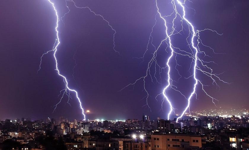 Uwaga na pogodę! Idą gwałtowne burze