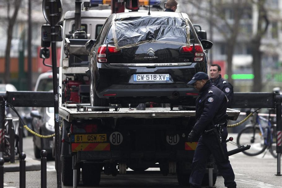 FRANCE PARIS CHARLIE HEBDO SHOOTOUT