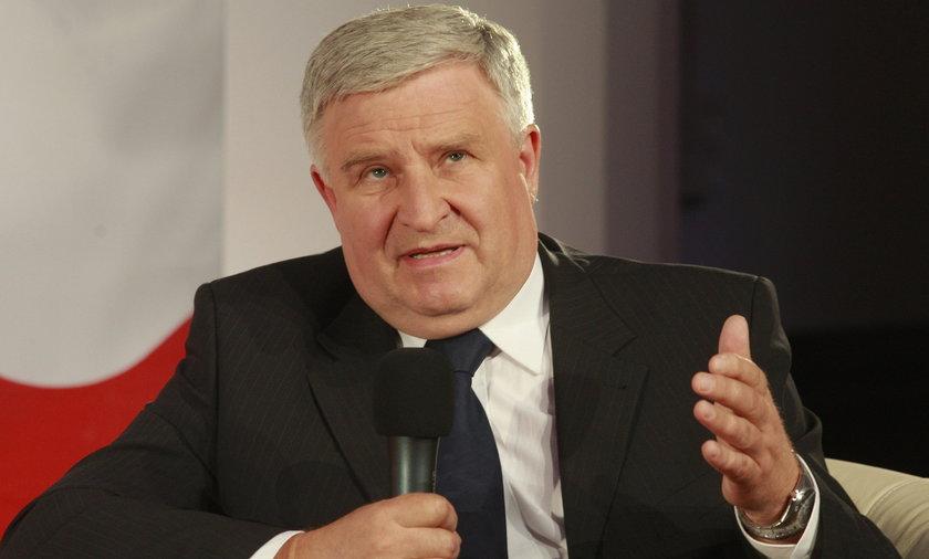 Kazimierz Kujda szef Narodowego Funduszu Ochrony Srodowiska i Gospodarki Wodnej, były szef spółki Srebrna