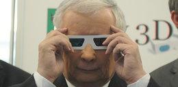 Kaczyński w trójwymiarze. Podobało mu się