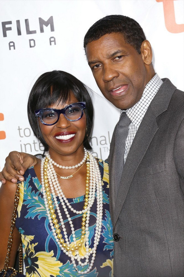 Denzel i Pauletta Washington