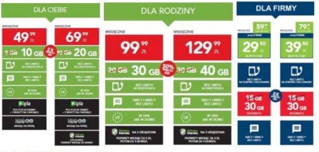 """2 x WIĘCEJ INTERNETU w mixie i """"na kartach"""""""