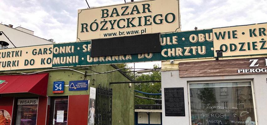 Na słynnym bazarze brakuje klientów, a między pawilonami hula wiatr. Źle się dzieje na Różycu