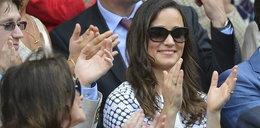 Pippa Middleton na Wimbledonie. Z...