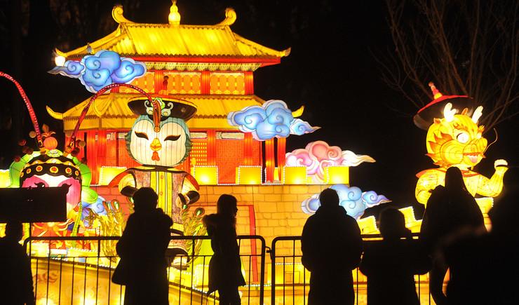 Kineski festival svetla 2019, Kineska nova godina