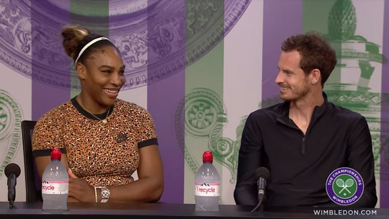 Serena Williams and Andy Murray, Murrena fever
