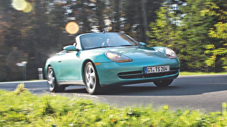 Porsche 911Cabrio - ponadczasowe szczęście