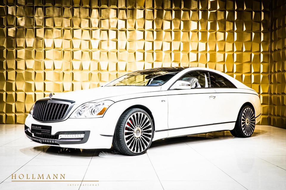 Maybach 57S coupe za… 800 tys. euro!