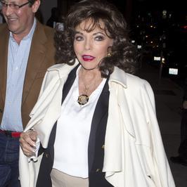 Joan Collins wciąż zachwyca. Wygląda na 83 lata?