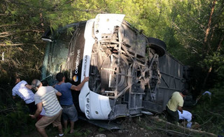 Wypadek autokaru w Turcji z udziałem polskich turystów. Są ranni
