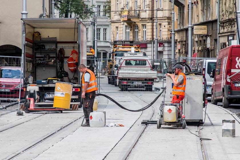 Krakowska będzie gotowa w połowie sierpnia