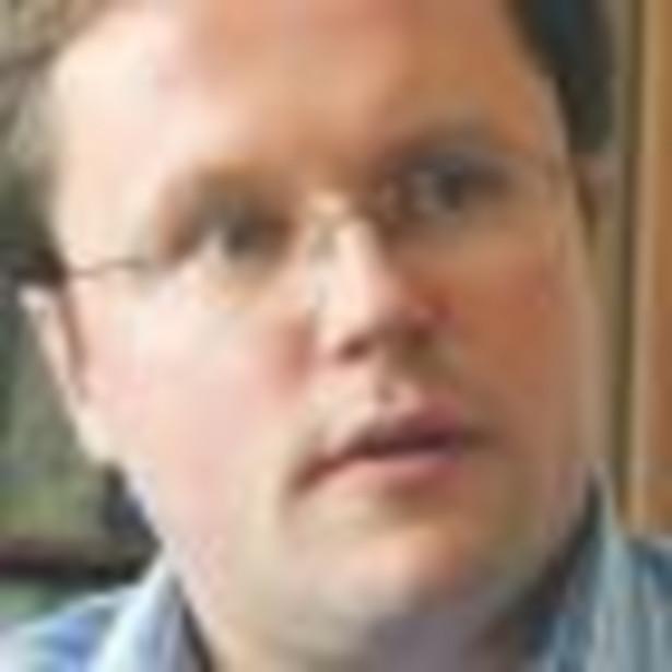 Łukasz Wejchert, absolwent dublińskiego Portobello Business College. Od 2004 roku prezes zarządu Grupy Onet.pl Fot. Wojciech Górski